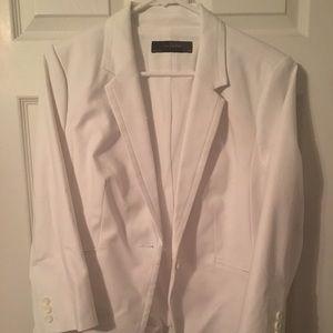 The Limited White Cotton Blazer size XL
